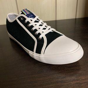 New Original Penguin Black Canvas Sneakers